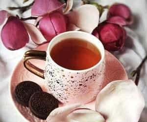afternoon tea, cozy, and peaceful image