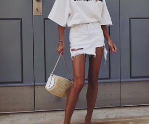 blogger, Jil Sander, and outfit image