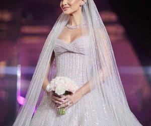 bride, glamour, and gorgeous image