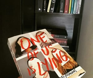 book, libros, and one of us is lying image