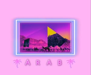 arab, backgrounds, and جُمال image