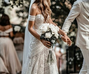 aesthetic, bridal, and couple image