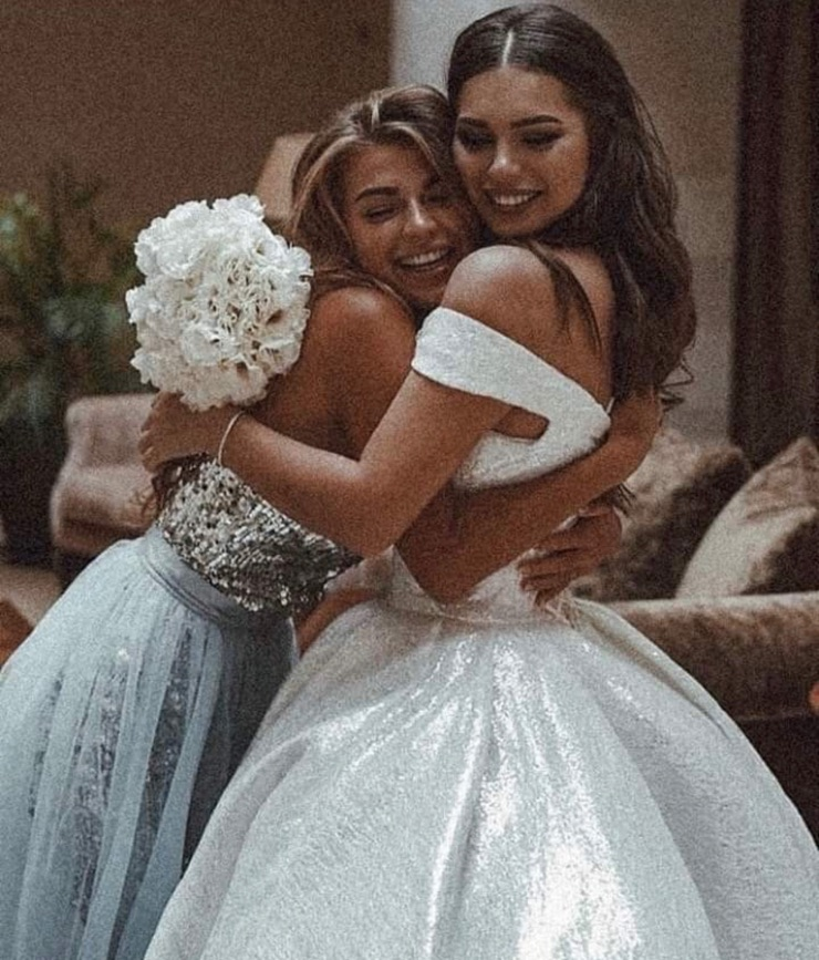 wedding, friendship, and friends image