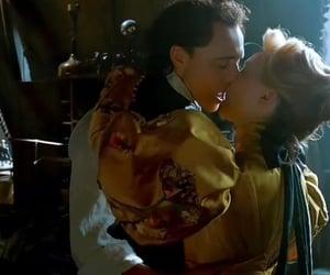 kiss, crimson peak, and edith cushing image
