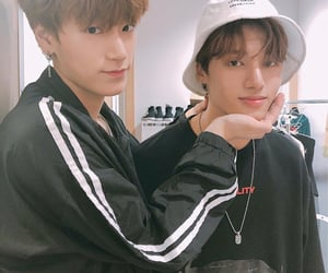 ateez, jung wooyoung, and woosan image