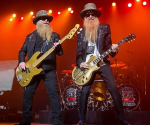 bass guitar, classic rock, and zz top image