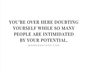 doubt, empowerment, and motivation image