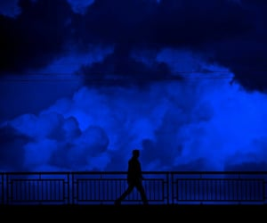 aesthetics, clouds, and blue image