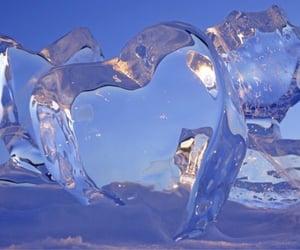 aesthetics, frozen, and blue image