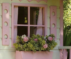 pink, aesthetic, and cottage image