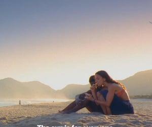 beach, brazil, and rio image