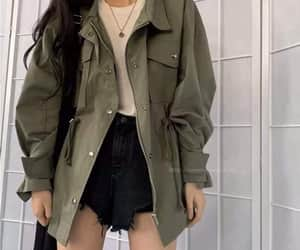fashion, korean style, and outfit image