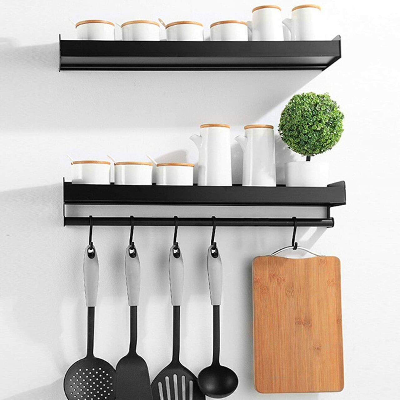 spice rack, wall spice rack, and spice rack with hook image