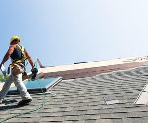 roofing damage repair image