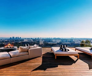california, city lights, and luxury real estate image