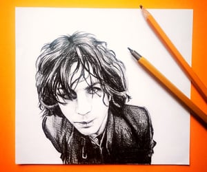 black and white, etsy, and syd barrett image