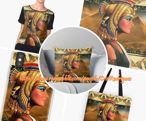 art, egypt, and ancient egypt image