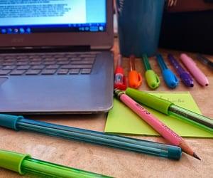 coffee, starbucks, and homework image