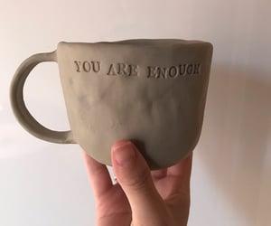 aesthetics, clay, and coffee mug image