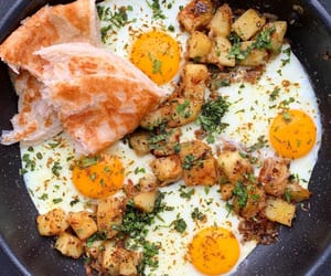 chilli pepper, fried egg, and spice image