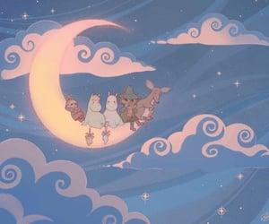 illustration, art, and moomintroll image
