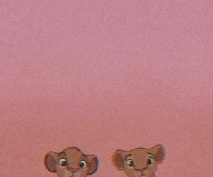 wallpaper, lion king, and simba image