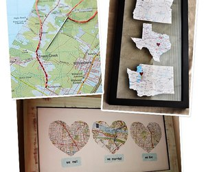 diy, map, and present image