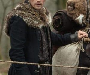 coat, outlander, and fauxjacket image
