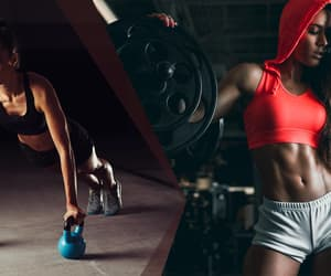 athlete, fashion, and fit image