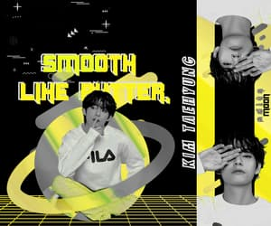 aesthetic, bts v, and kpop edits image
