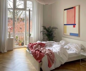 accessories, art, and bedroom image