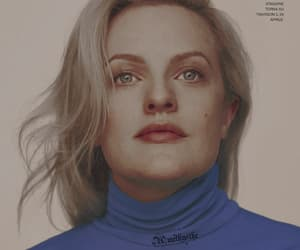 actress, blonde, and elisabeth moss image
