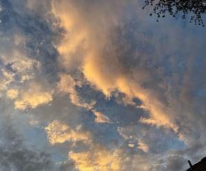 clouds, nature, and skies image