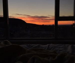 aesthetic, bed, and home image