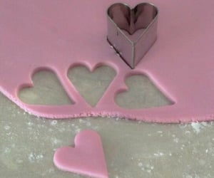 pink, aesthetic, and baking image