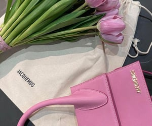 accessories, flowers, and bag image