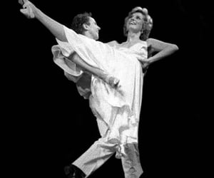 1985, black and white, and dancing image