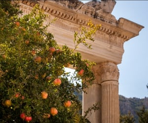 nature, Greece, and architecture image