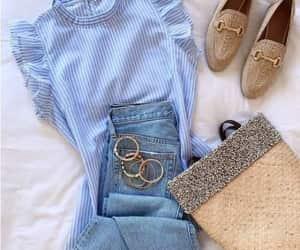 gingham blouse image