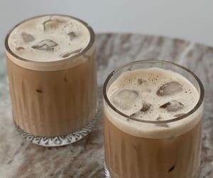 caffeine, coffee, and ice coffee image