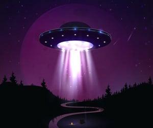 alien, dark, and illustration image