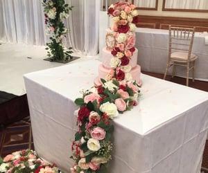 asian, cake, and wedding image