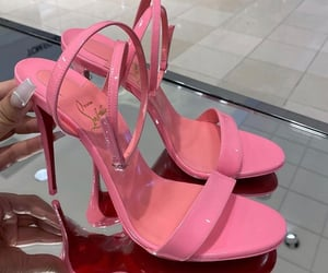 pink, shoes, and louboutin image