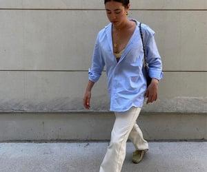 button up shirt, city life, and life image