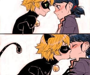 Adrien, Chat Noir, and ship image