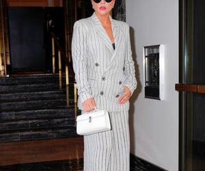 Lady gaga, singer, and white purse image