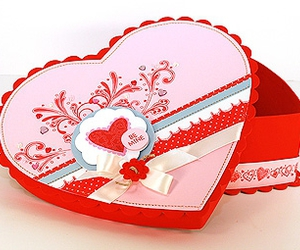 box, crafting, and heart image
