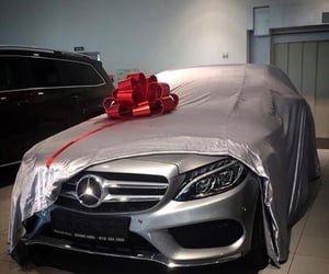 car, gift, and mercedes image