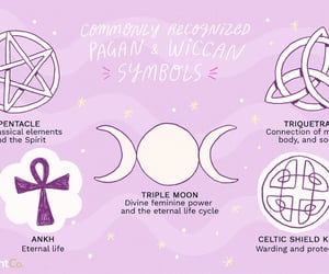 symbols, wicca, and wiccan image