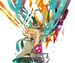 hatsune miku, vocaloid, and miku image